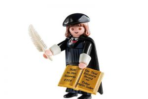 Martin Luther Miniature